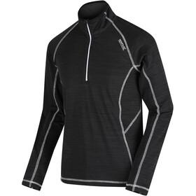 Regatta Yonder Longsleeve Shirt Heren, black